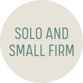 Solo and Small Firm logo