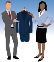 Litigation Section Law Suits Clothing Drive image
