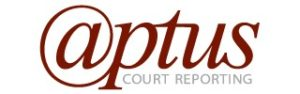 Aptus Court Reporting logo