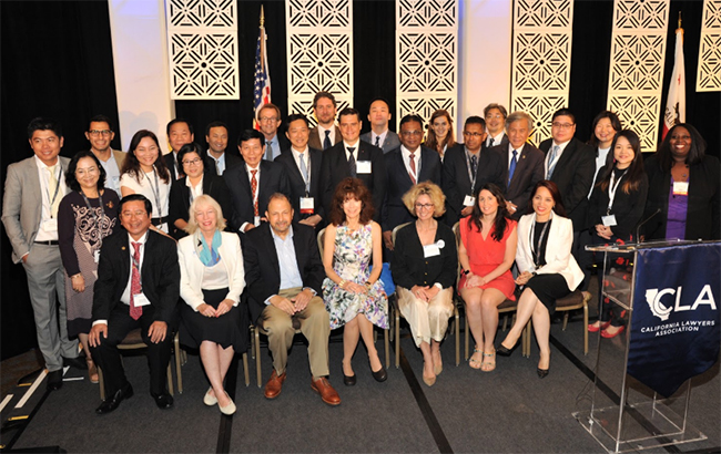 CLA honored its foreign delegates at the 2018 Annual Meeting