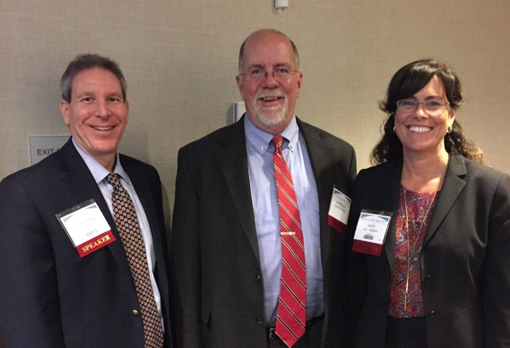 Appellate Summit 2017 - When Things Go Wrong: Challenges and Strategies for Appeals from Jury TrialsSummit Presenter Benjamin Shatz (Certified Appellate Specialist, Past Chair CAC) with Lawrence Striley (California Reporter of Decisions) and co-presenter Katy Graham (CAC Chair 2018-2019)