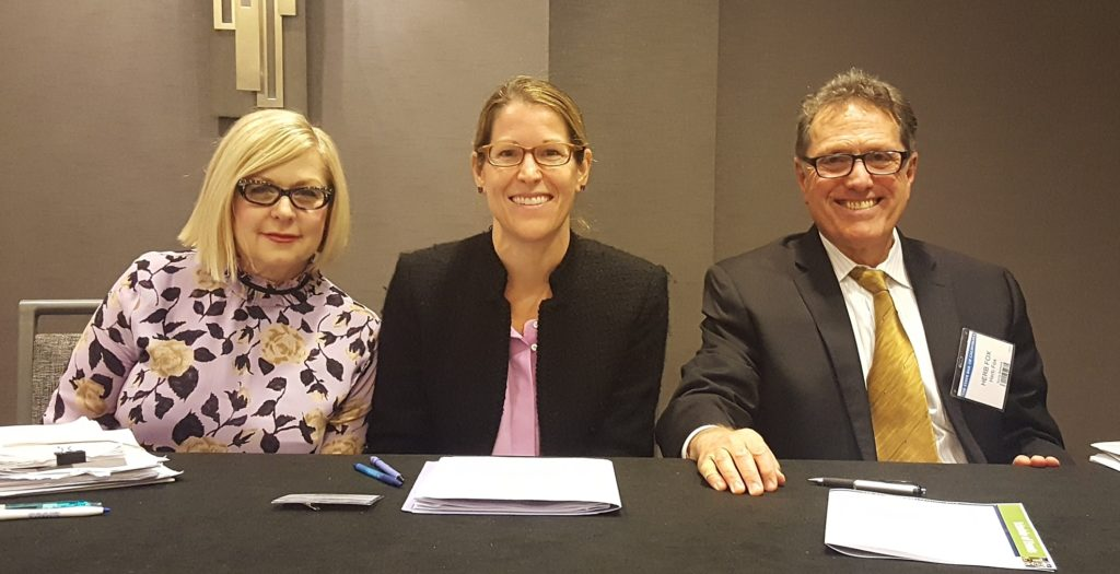 Hon. Helen Williams (Santa Clara County Superior Court); Leah Spero (Vice-Chair, CAC); and Herb Fox (CAC Member, Certified Appellate Specialist) presented.