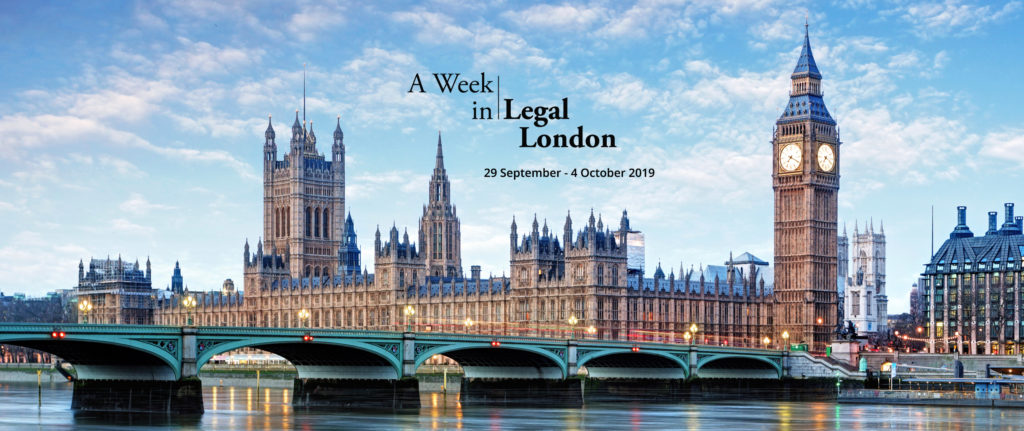 image of London; Legal London takes place Sept. 29, 2019.