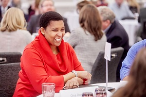 Ona Dosunmu at the CLA Leadership Retreat ©2019 Darin Fong Photography