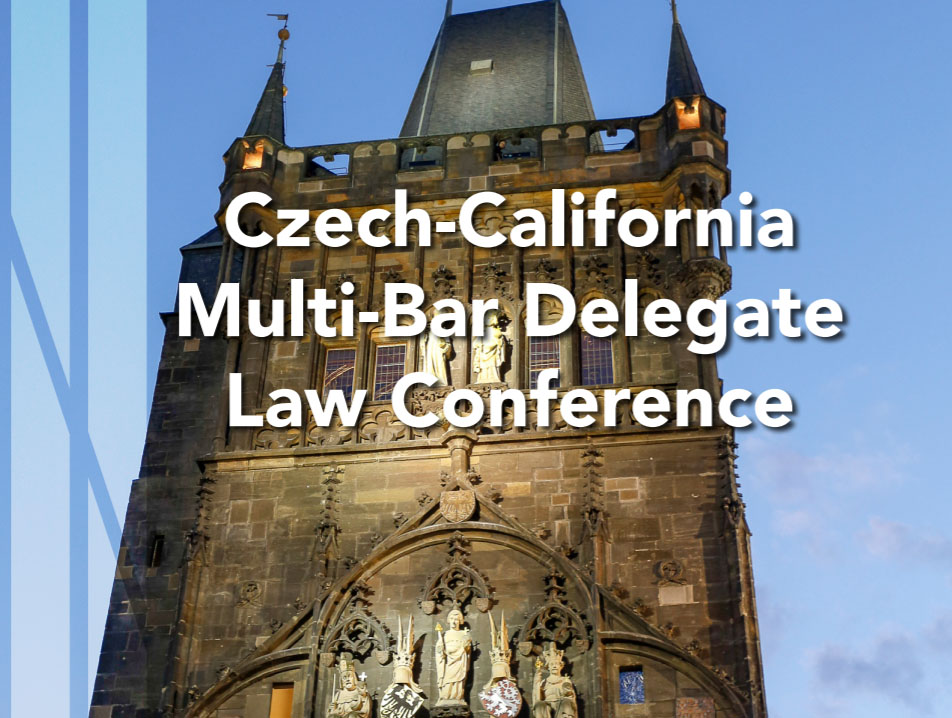 image highlighting Czech-California multi-bar delegate law conference