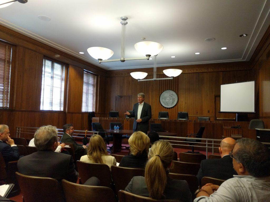 Mark Stone speaking at the CLa Legislative Day in Sacramento