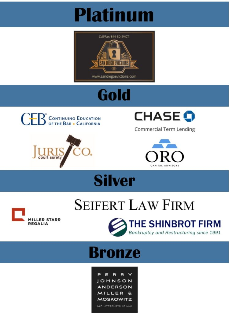 Real Property Spring Conference Sponsors