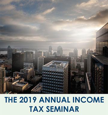 Tax seminar brochure image