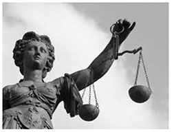 image of a statue of justice