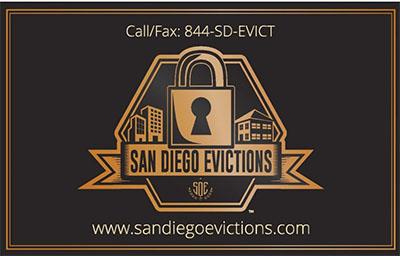San Diego Evictions Logo