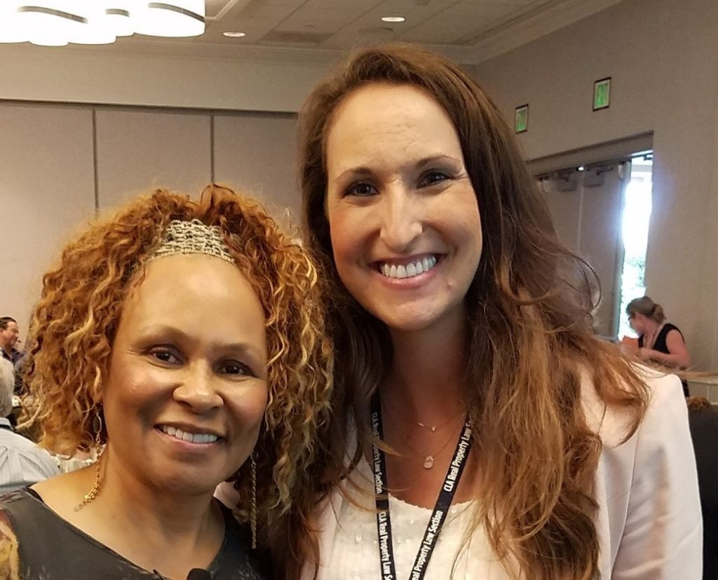 Speaker Janice Brown and Ashley Peterson