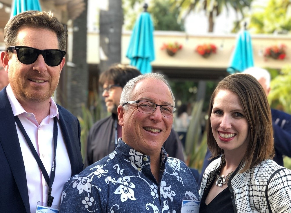 Thomas Lombardi, Jeremy Olsan (Sponsor), and Tara Burd