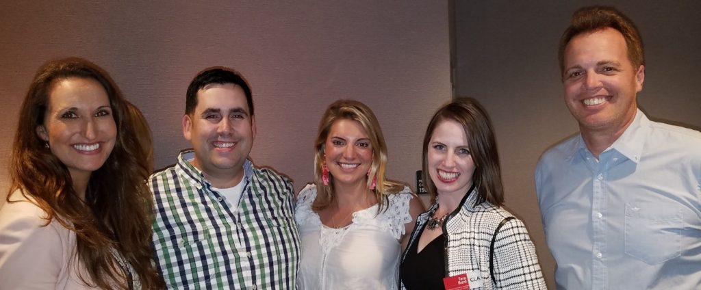 The Comedy Show: Ashley Peterson, Comedian Josh Sneed, Elizabeth Roticci (Organizer), Tara Burd, Patrick Keane