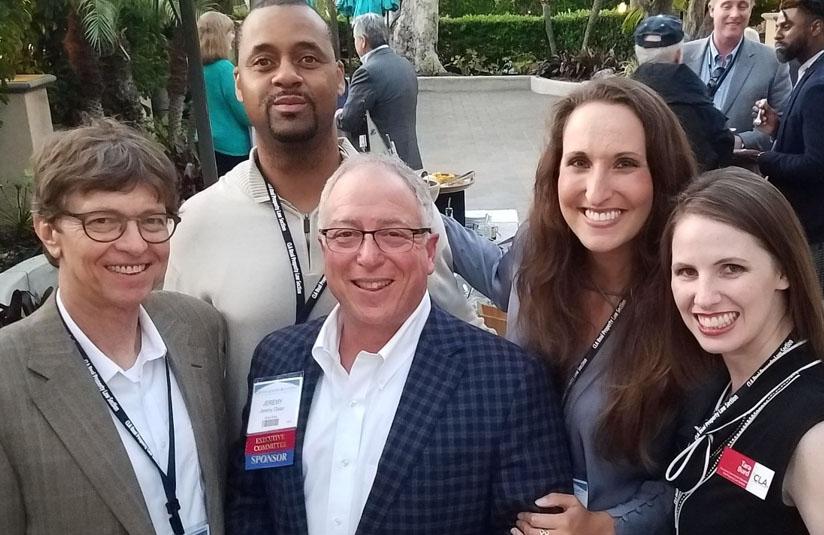 Pictured: Stephen Delateur, Cosmos Eubany, Jeremy Olsan (Sponsor), Ashley Peterson (Organizer), Tara Burd.