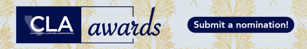 CLA Awards. Submit a nomination!