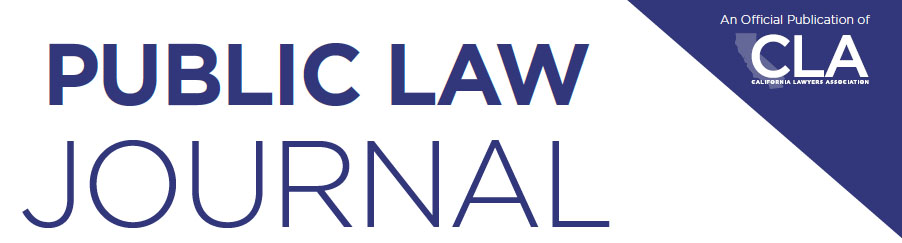 Public Law Journal image