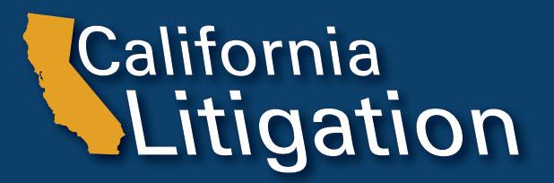 image of California Litigation logo