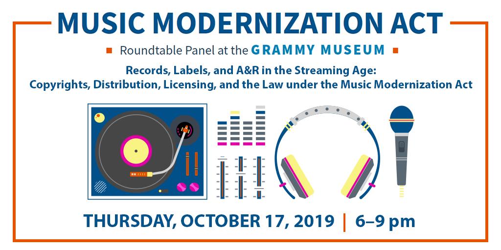 Music Modernization Act graphic