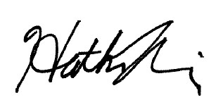 Heather Rosing signature