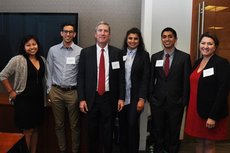 image of Idalmis Vaquero, Elias Rodriguez, Judge Tigar, Mina Arasteh, Michael Damasco, and Jennifer Novak