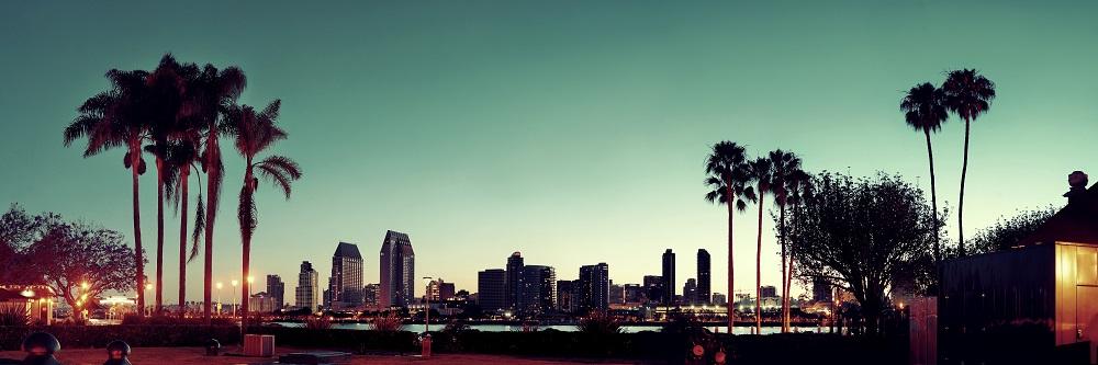 image of San Diego skyline