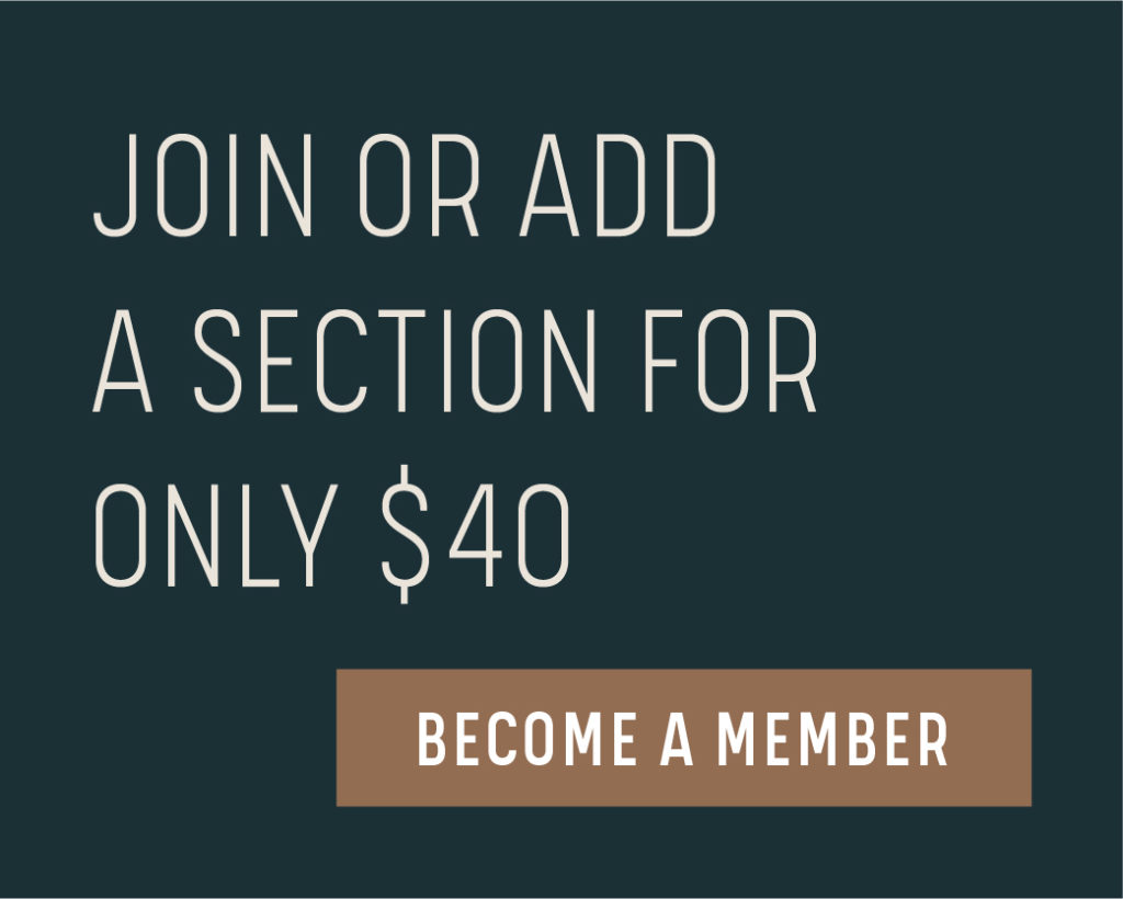 Join or Add a Section for Only $40