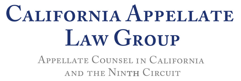 California Appellate Law Group Logo