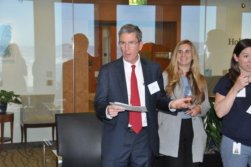 image of  Honorable Judge Jon Tigar speaking