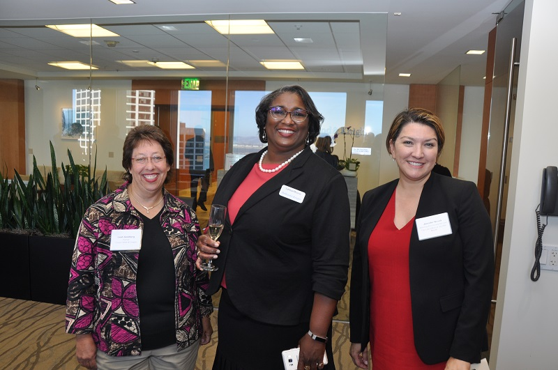 image of Leah Goldberg of Cooper, White & Cooper; Letitia Moore of Holland & Knight, and Jen Novak of the Law Office of Jennifer F. Novak (current Vice Chair and incoming Chair of the Environmental Law Section Executive Committee)