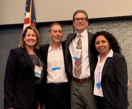 BLS Vice-Chair Corey Weber, BLS Advisor Tom Phinney and ILC Members Misty Perry Isaacson and Maggie Bordeaux