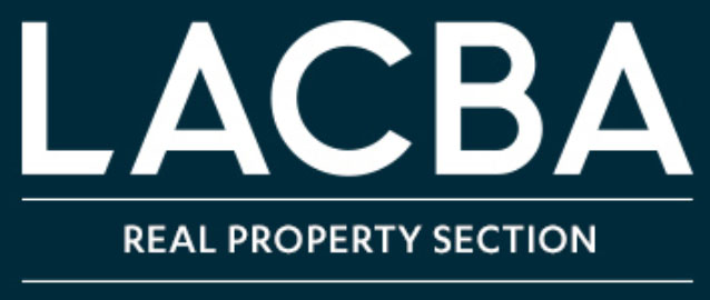 LACBA real property logo