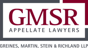 GMSR Appellate Lawyers
