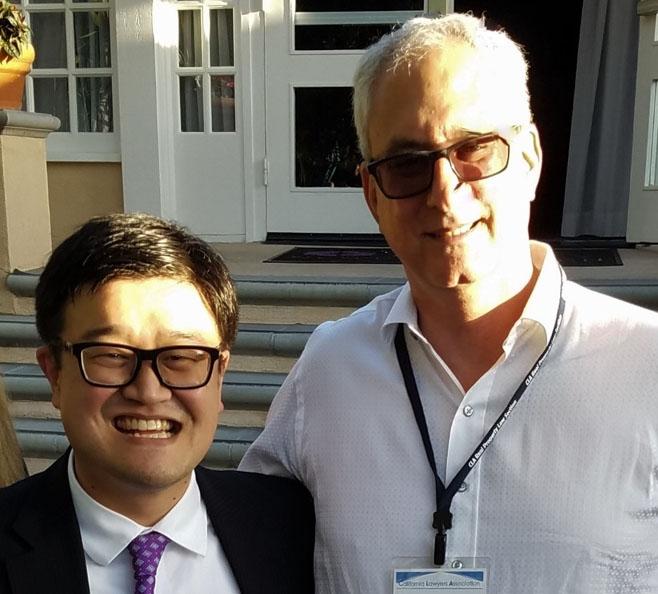 Jonathan Golding with Danny Wang