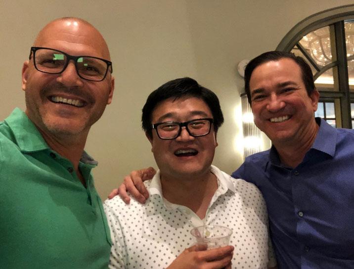 image of Steve Cvitanovic, Danny Wang, J.R. Richards