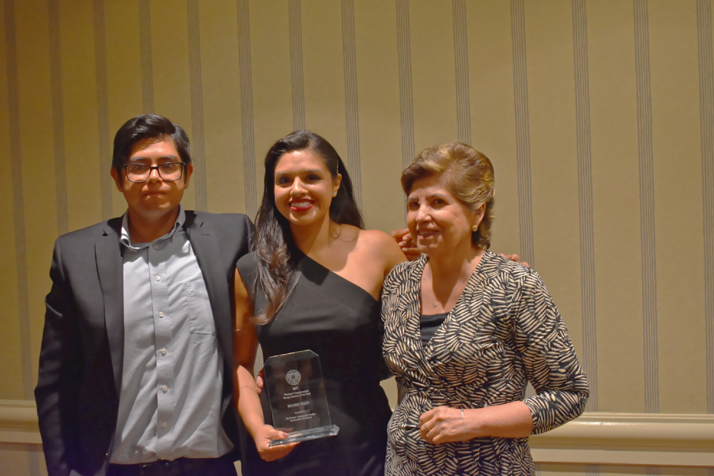 picture from the 2017 Steve Jimenez Memorial Special Recognition Awards