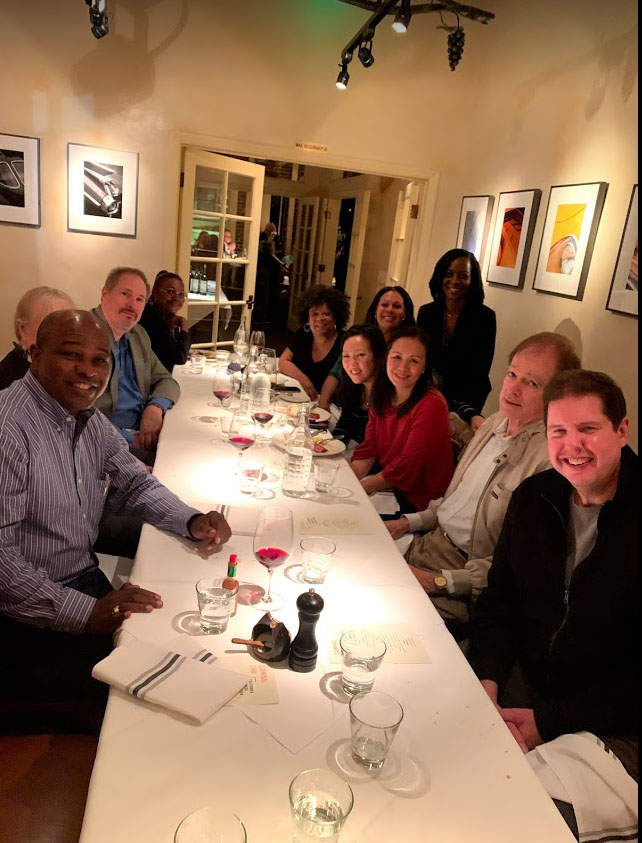 Criminal Law Section Executive Committee enjoying dinner!