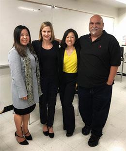 image of Caroline Djang,  Kyra Andrassy, Soyeun Choi and  Robert Castro