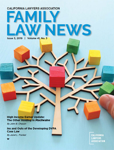 Family Law News cover