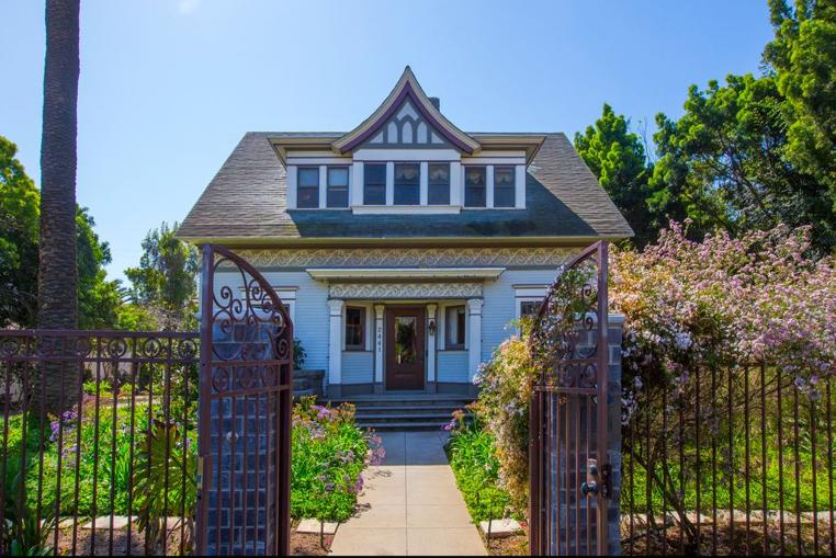 Historic Rynearson House, San Diego, CA