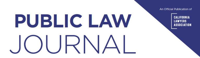 Public Law Journal image