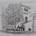 Drawing of Sutter Club