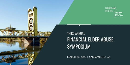 Financial Elder Abuse Symposium graphic