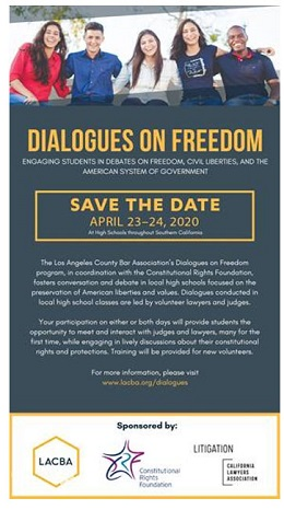 Dialogues of Freedom flyer image