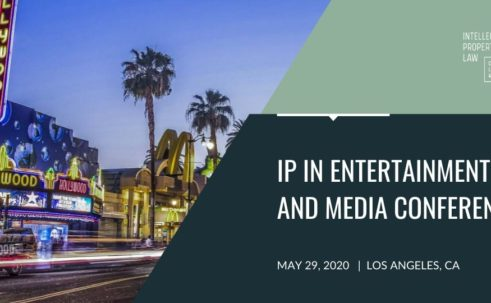 IP in Entertainment and Media Conference Banner