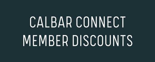 CalBar Connect Member Discounts