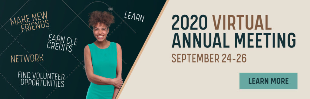 2020 Virtual Annual Meeting September 24-26