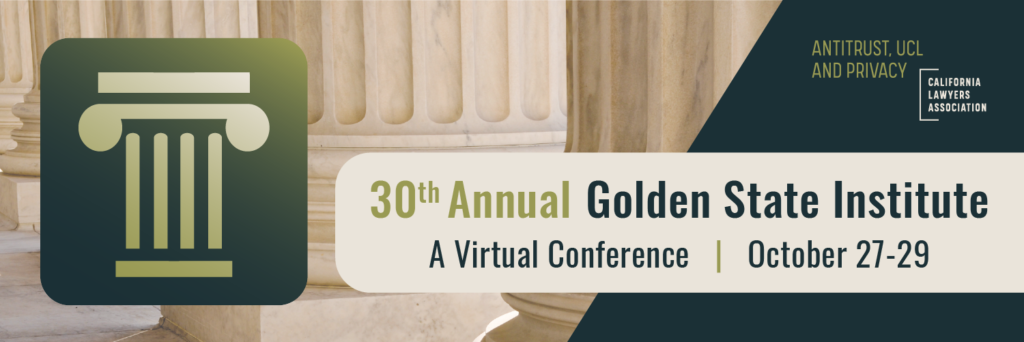 30th Annual Golden State Institute, October 27-29