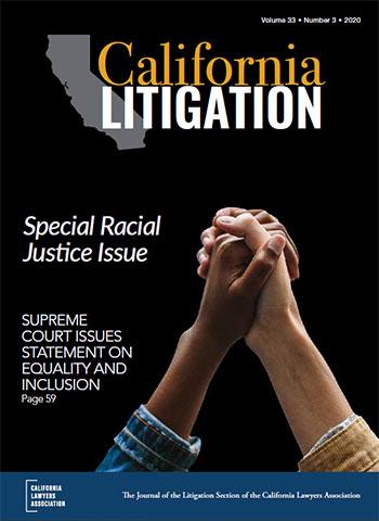 California Litigation cover image