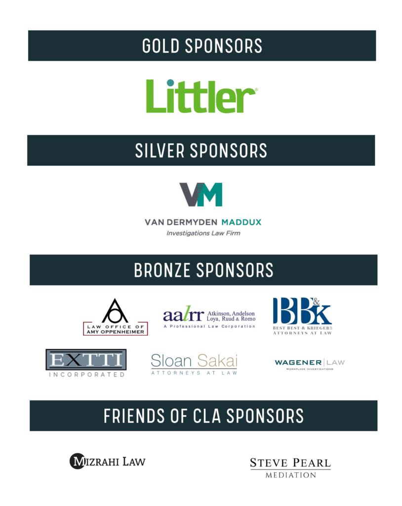 logos of 2021 sponsors