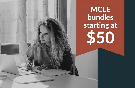 MCLE bundles start at $50